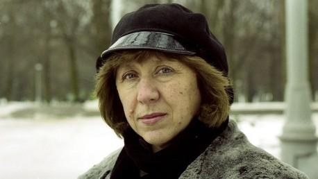 الكاتبة البيلاروسية سفيتلانا أليكيسيفيش