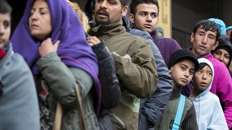 لاجئون من الشرق الأوسط في بلجيكا