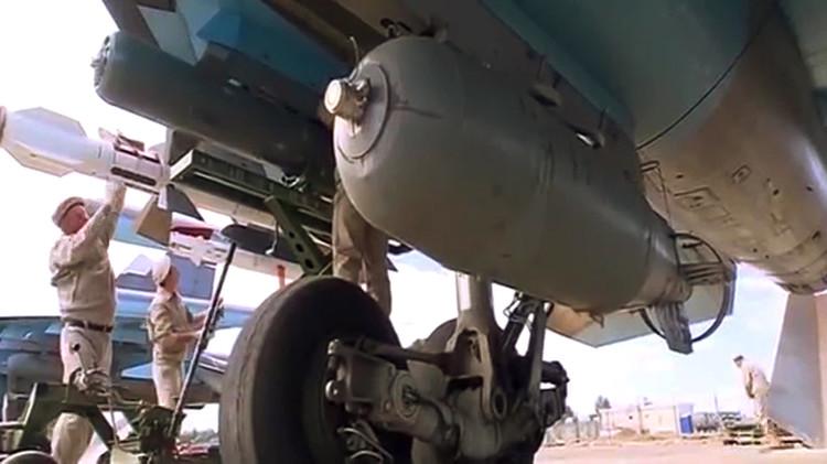 البنتاغون يناشد سلاح الجو الروسي في سوريا عدم استخدام صواريخ