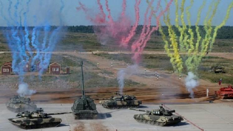 القوات البرية الروسية تشارك في 7 مناورات وتدريبات دولية