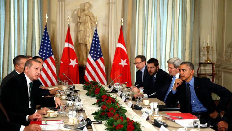 أوباما يدعو أنقرة وموسكو إلى التركيز على محاربة