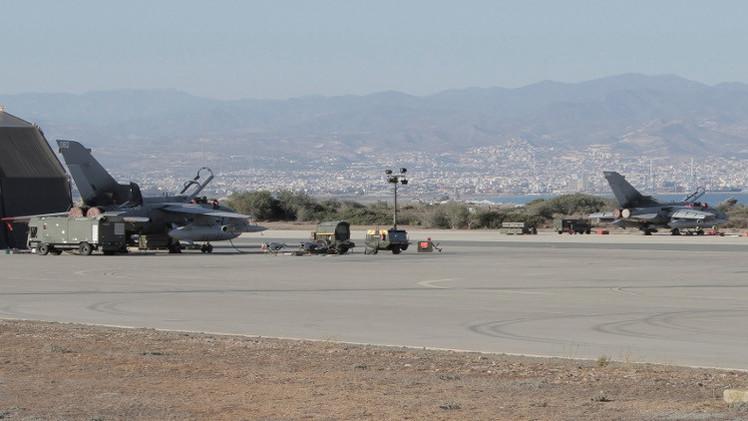 صحيفة: بريطانيا تعتزم مضاعفة عدد مقاتلاتها في قبرص لضرب
