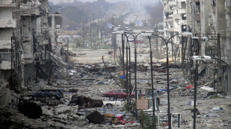 محافظ حمص يعلن التوصل لاتفاق نهائي يقضي بخروج المسلحين من حي الوعر