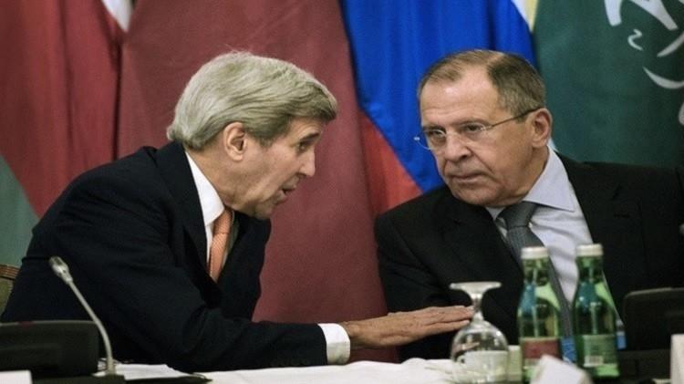 لقاء ثنائي مرتقب بين لافروف وكيري في بلغراد