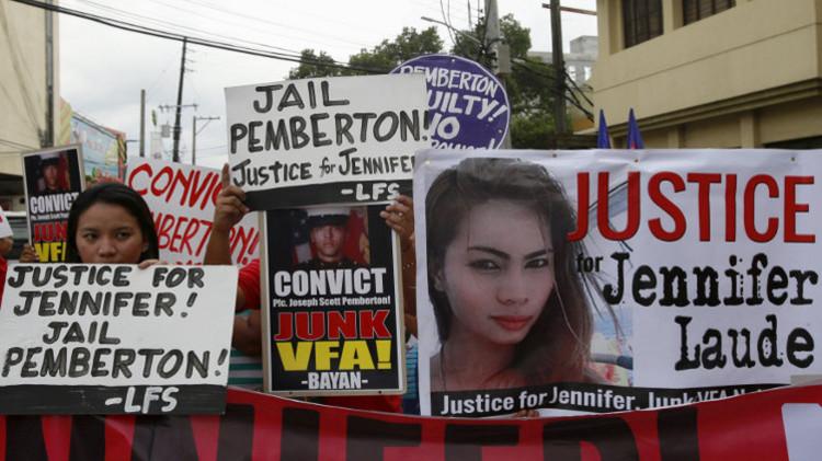 محكمة فلبينية تدين جنديا أمريكيا بقتل متحول جنسيا ظنه امرأة