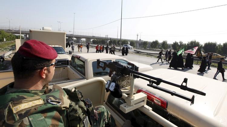 مقتل 5 انتحاريين قبل استهدافهم الزائرين المتجهين إلى كربلاء