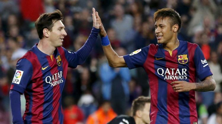برشلونة قد يضطر للتخلي عن ميسي أو نيمار