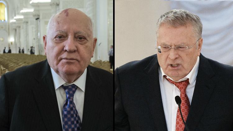 المحكمة تغرم غورباتشوف لصالح جيرينوفسكي
