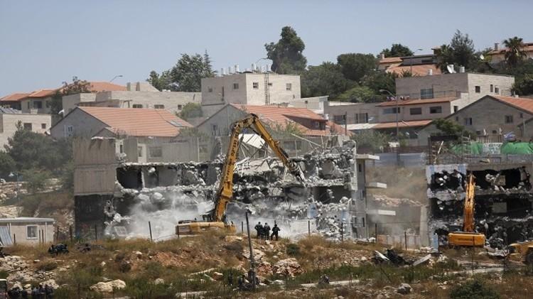 الجيش الإسرائيلي يهدم منزل أسير فلسطيني في نابلس