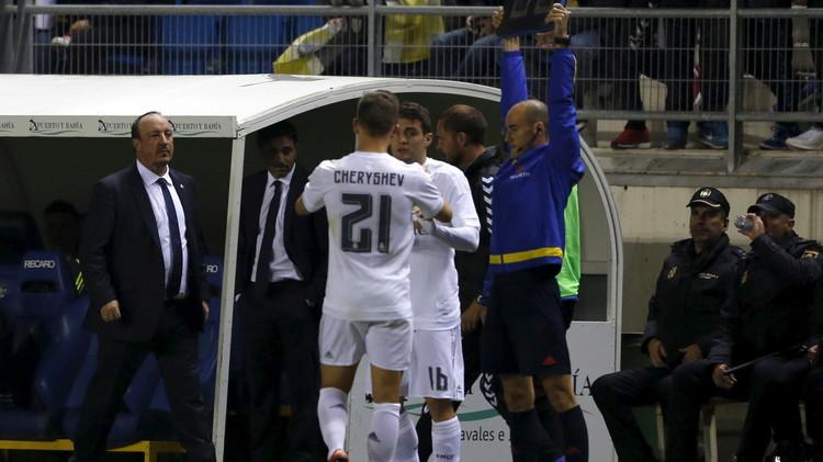 ريال مدريد مهدد بالاستبعاد من كأس الملك بسبب لاعب روسي (فيديو)