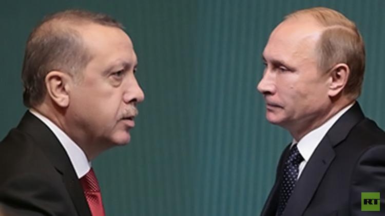 بوتين يتقرب من الله برأس أردوغان!