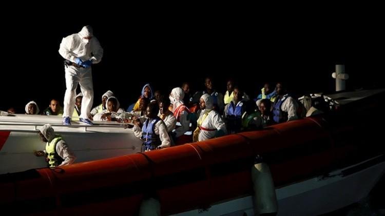 إيطاليا تعلن عن إنقاذ 1500 مهاجر من الغرق قبالة سواحل ليبيا