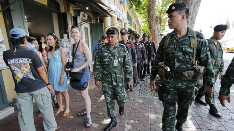 سوريون في دائرة الشك في تايلاند خوفا من مهاجمة سياح روس
