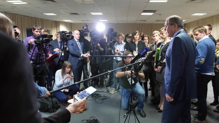 لافروف: علاقتنا مع صربيا علاقات تحالف