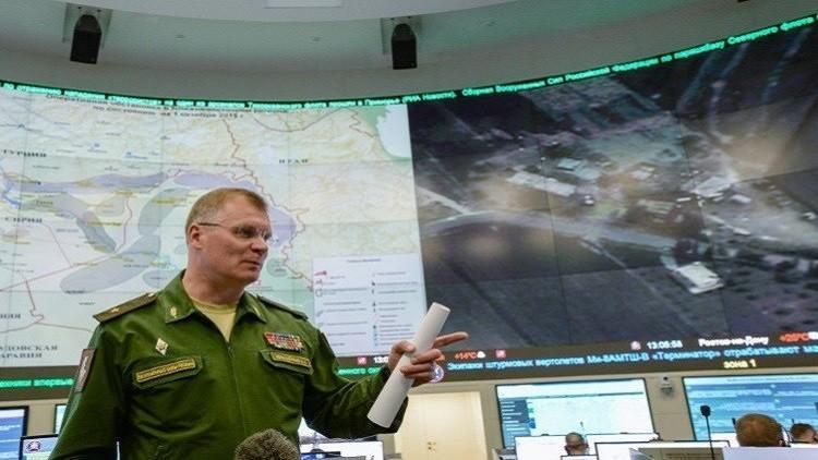 الدفاع الروسية: غاراتنا دمرت 12 محطة استخراج للنفط في سوريا