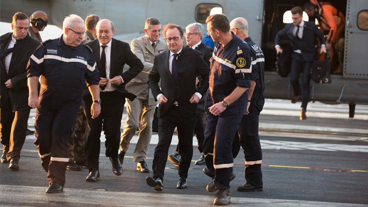 باريس: طلعات استطلاعية في ليبيا وهولاند يزور