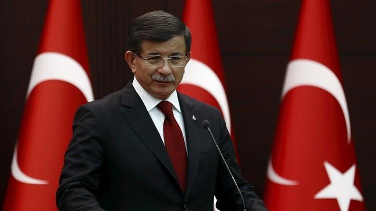 داوود أوغلو: تركيا لا تنوي انتهاك سيادة العراق ووحدة أراضيه