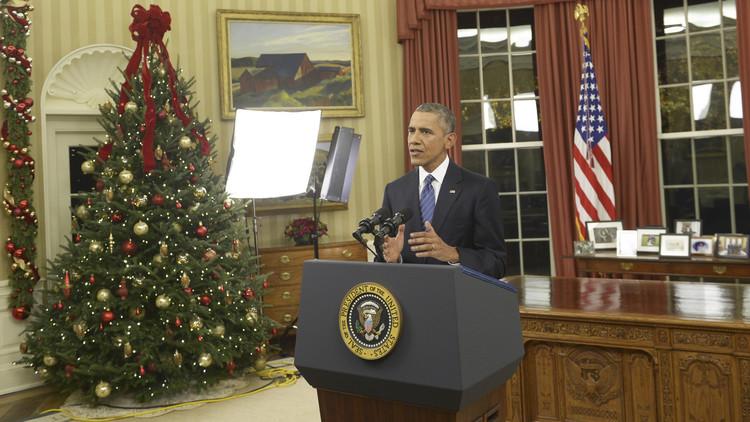 أوباما: التسوية السياسية في سوريا ستسمح بالعمل مع روسيا للقضاء على