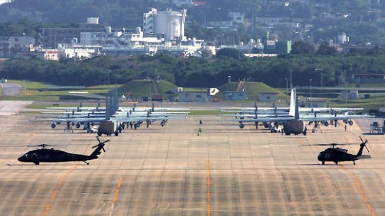 توقيف مواطن ياباني لتوجيهه أشعة ليزر صوب مروحية أمريكية