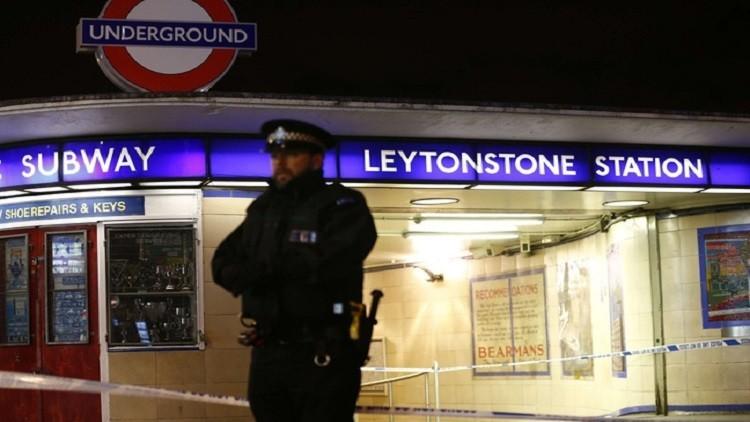 لندن تصنف حادثة الطعن في مترو الأنفاق كعمل إرهابي