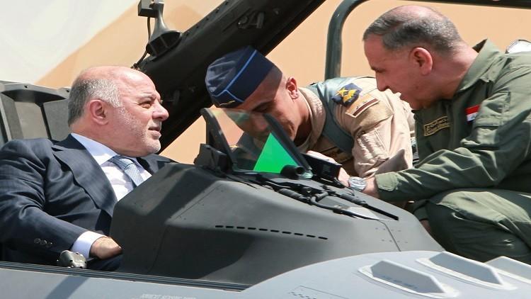العبادي يأمر سلاح الجو بأن يكون على أهبة الاستعداد للدفاع عن سيادة العراق