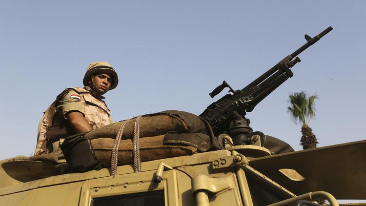 مقتل 4 عسكريين مصريين بانفجار عبوة ناسفة في رفح