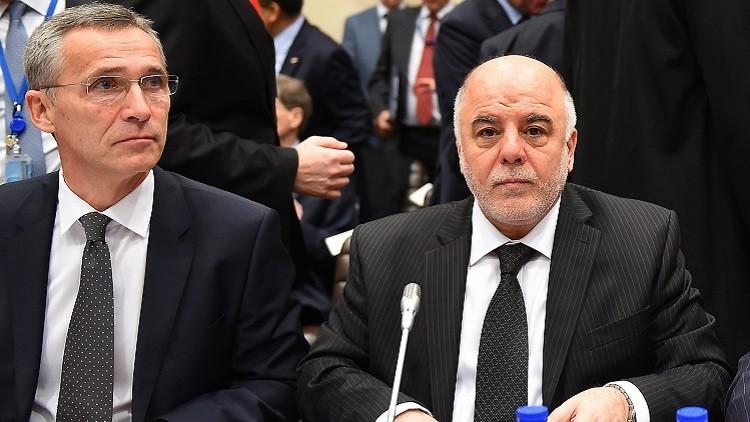 العبادي يطلب من الناتو التأثير على أنقرة لسحب قواتها من شمال العراق