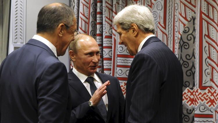 بوتين قد يستقبل كيري الأسبوع المقبل لبحث التسوية السورية