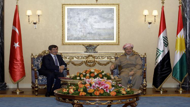 برزاني يزور أنقرة على خلفية تأزم العلاقات التركية العراقية