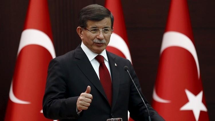 داوود أوغلو: تركيا مستعدة للعمل مع روسيا لتجنب حوادث مشابهة لإسقاط طائرتها