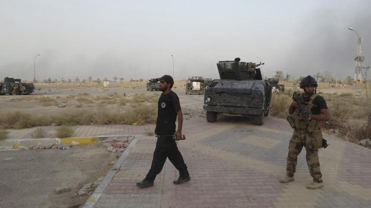 القوات العراقية تعزز مواقعها في الرمادي استعدادا لتحريرها من داعش
