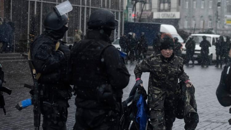 الأمن الأوكراني يعلن احتجاز