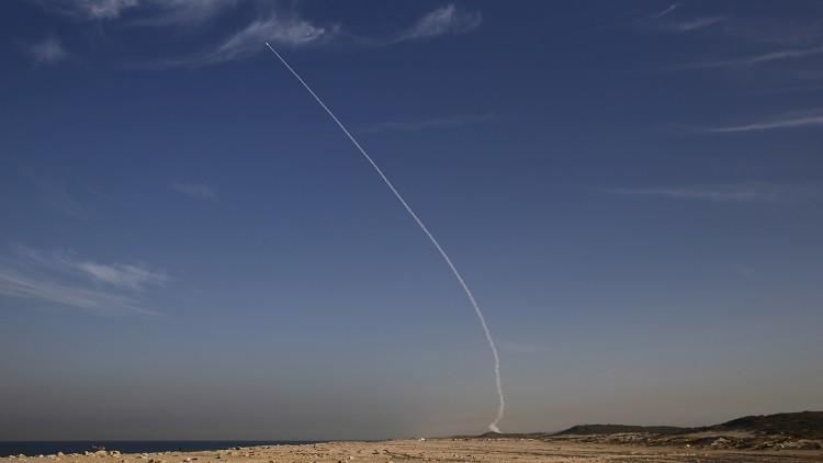 إسرائيل تختبر صاروخ