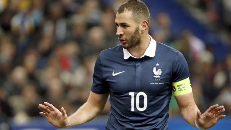 إيقاف بنزيمة عن المشاركة مع منتخب فرنسا