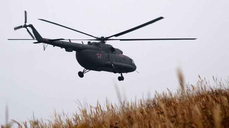 وزارة الدفاع الروسية تنفي خرق مروحيتها الأجواء الجورجية