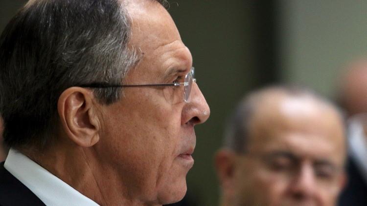 لافروف: الغرب بدأ يدرك ضرورة تنسيق الجهود في مجال مكافحة الإرهاب