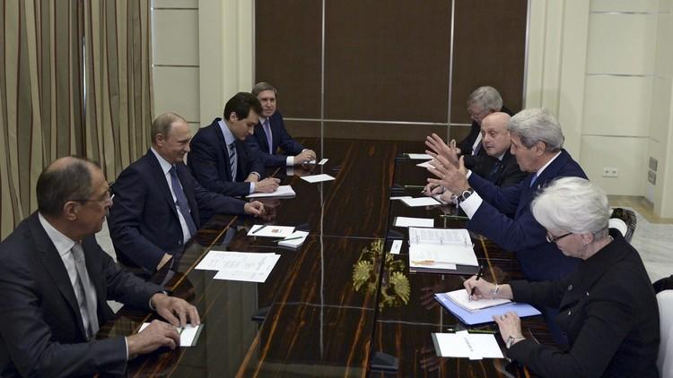 كيري يلتقي بوتين ولافروف الثلاثاء القادم في موسكو