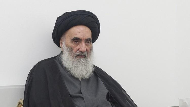 السيستاني يدعو العراق إلى عدم التسامح مع انتهاك سيادته