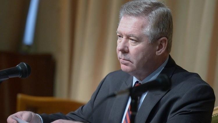 غاتيلوف: روسيا تؤيد جهود دي ميستورا لتحقيق الهدن المحلية في سوريا