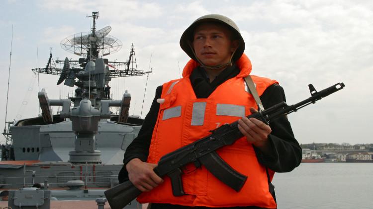 مالك السفينة التركية ينفي إطلاق سفينة الحراسة الروسية النار باتجاه مركبه
