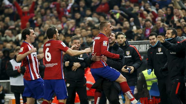 أتلتيكو مدريد يجتاز أتلتيك بيلباو ويزاحم برشلونة على صدارة