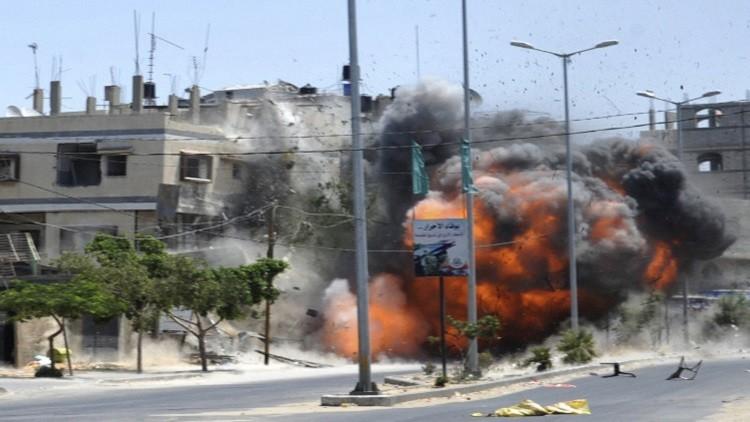 إسرائيل تغير على غزة ردا على إطلاق صاروخ
