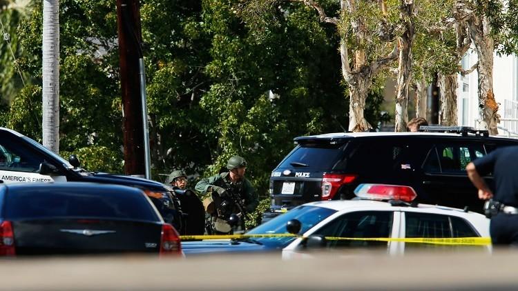 الاعتداء على مسجدين  في كاليفورنيا