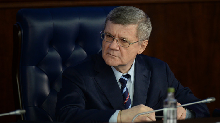 النائب العام الروسي يتهم استخبارات أجنبية بفبركة فضيحة فساد ضد أسرته