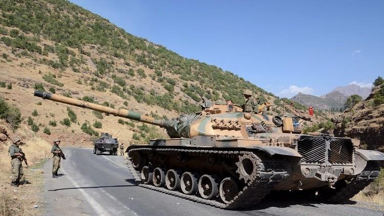 انسحاب جزئي للقوات التركية المنتشرة قرب الموصل شمال العراق