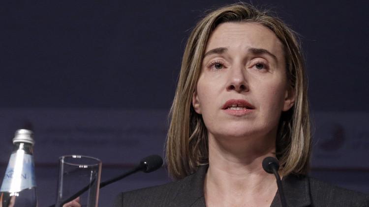 موغيريني: الاتحاد الأوروبي بحث مع تركيا مسألة تمويل الإرهابيين وتنقلاتهم