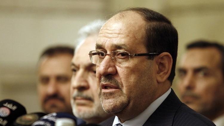 المالکي: ترکیا تحاول استقطاع الموصل