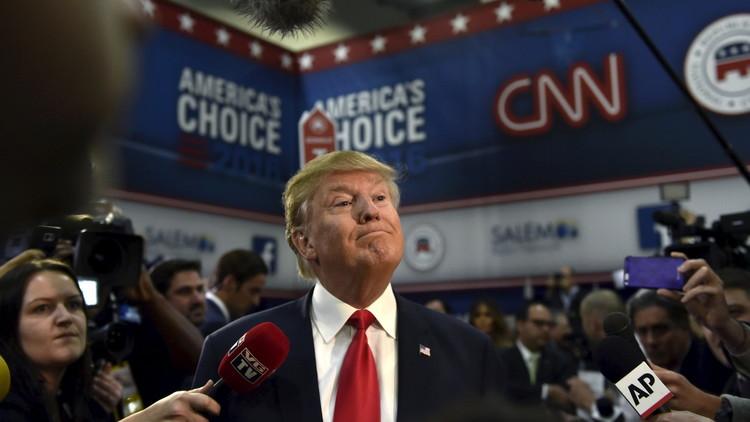 ترامب: السياسة الأمريكية أدت إلى زعزعة الوضع في الشرق الأوسط