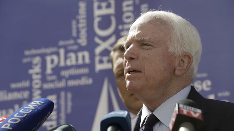 ماكين: الأسد يمثل خطرا أكبر من