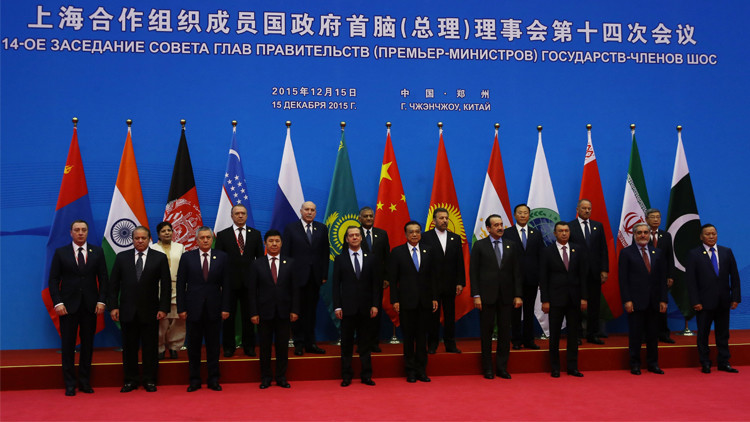 رؤساء حكومات دول منظمة شنغهاي للتعاون يتعهدون بتعميق التعاون الاقتصادي